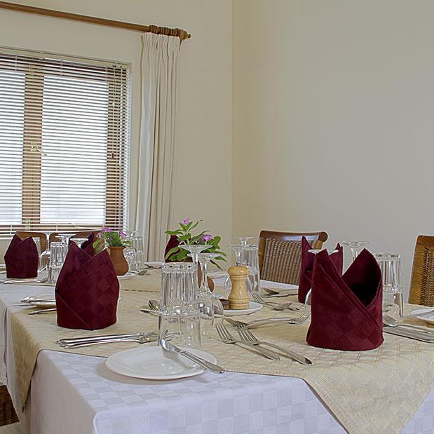 Baobab Suite Dining