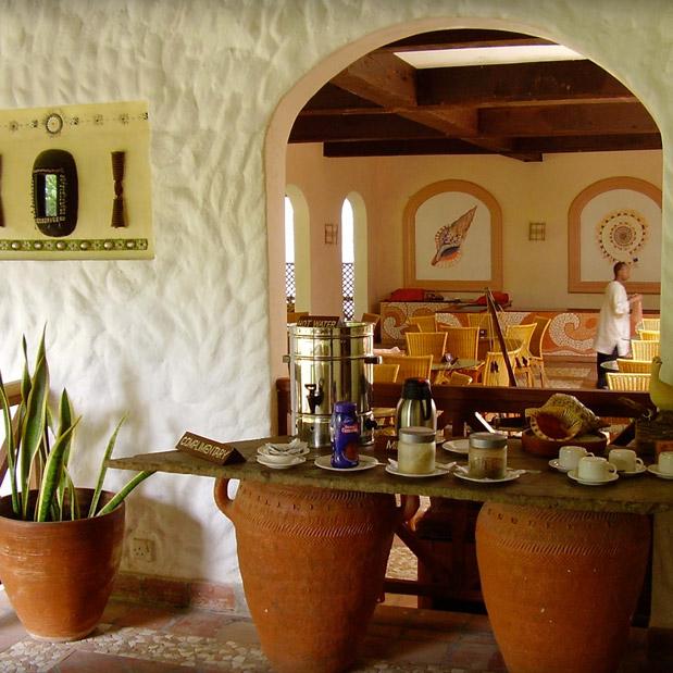 tea coffee station
